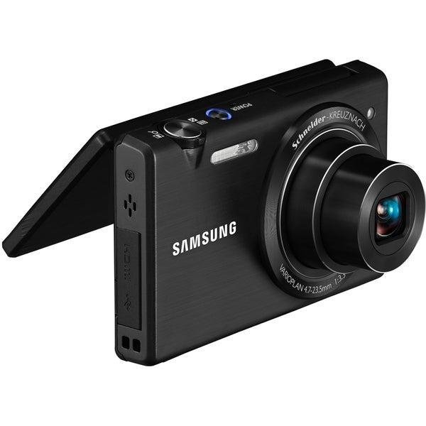 Samsung MV800 16.2 Megapixel Compact Camera - Black