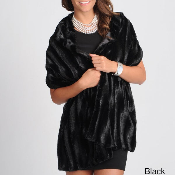 Ilana Women's Faux Fur Wrap