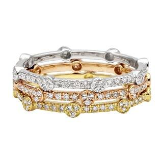 Beverly Hills Charm 10k Gold Round or Square Stackable Thin Diamond Ring|https://ak1.ostkcdn.com/images/products/7522109/P14960123.jpg?impolicy=medium