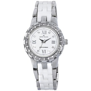 Anne Klein Women's Silver Stainless Steel Watch