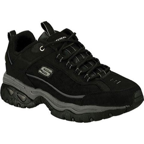 Skechers Men's Energy Downforce Black Sneakers