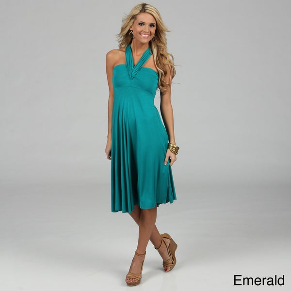 Elan's Women Convertible 8-way Dress