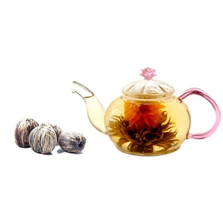 Tea Beyond Premium GFS2010 Juliet Blooming Tea Gift Set