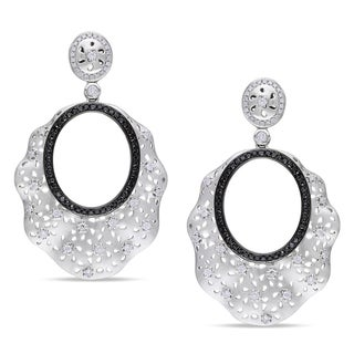 Miadora Signature Collection 14k White Gold 1 7/8ct TDW Diamond Earrings (G-H, SI1-SI2)