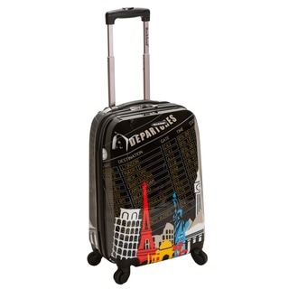 Rockland Las Vegas 20-inch Lightweight Hardside Spinner Carry-on Luggage