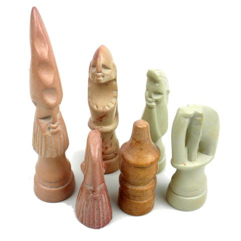 Handmade Decorative 14-inch Maasai Chess Set (Kenya)