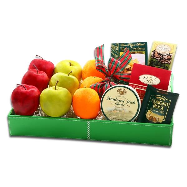 Alder Creek Holiday Fruit Tray Gift Basket