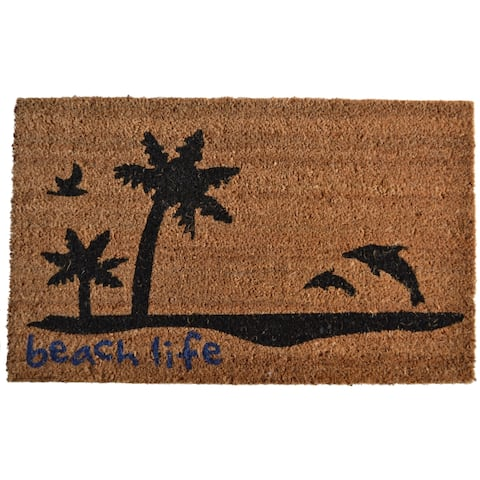 Beach Life Door Mat - Door Mat