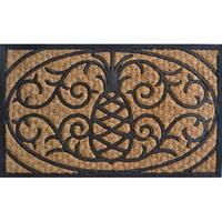 Pineapple Design Door Mat
