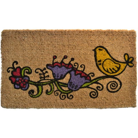Twitter Bird Welcome Mat - Door Mat