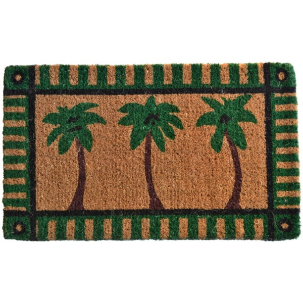 Palm Tree Welcome Mat