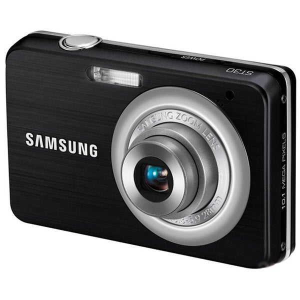 Samsung ST30 10MP Black Digital Camera