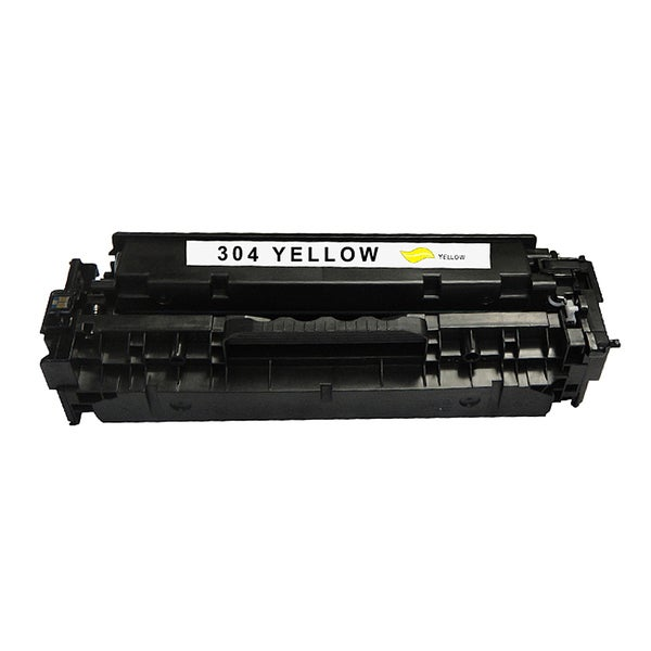 HP 304A Yellow Compatible Toner Cartridge for Hewlett Packard CC532A (Remanufactured)