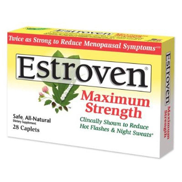 Estroven Maximum Strength 28 Caplets (Pack of 2)