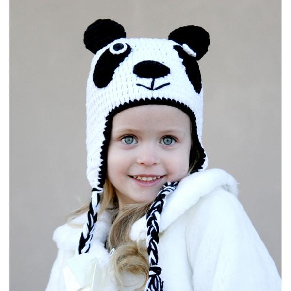Handmade Baby Panda Knit Hat