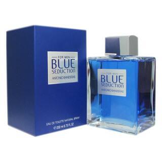 Antonio Banderas Blue Seduction Men's 6.75-ounce Eau de Toilette Spray|https://ak1.ostkcdn.com/images/products/7523974/P14961539.jpg?impolicy=medium