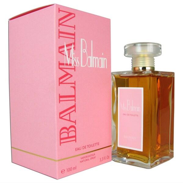 Pierre Balmain 'Miss Balmain' Women's 3.3-ounce Eau de Toilette Spray