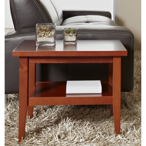 Jesper Office Cherry Wood Side Table