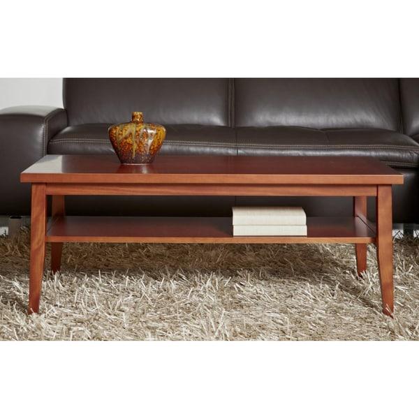 Jesper Office Cherry Wood Coffee Table