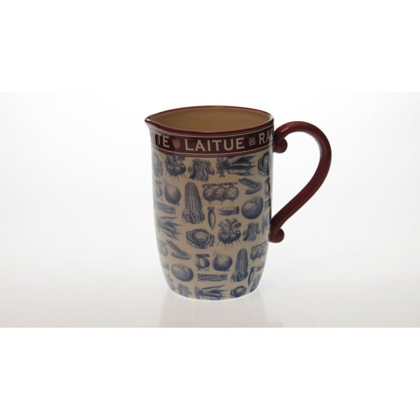 Certified International 'French Market' 3-quart Pitcher