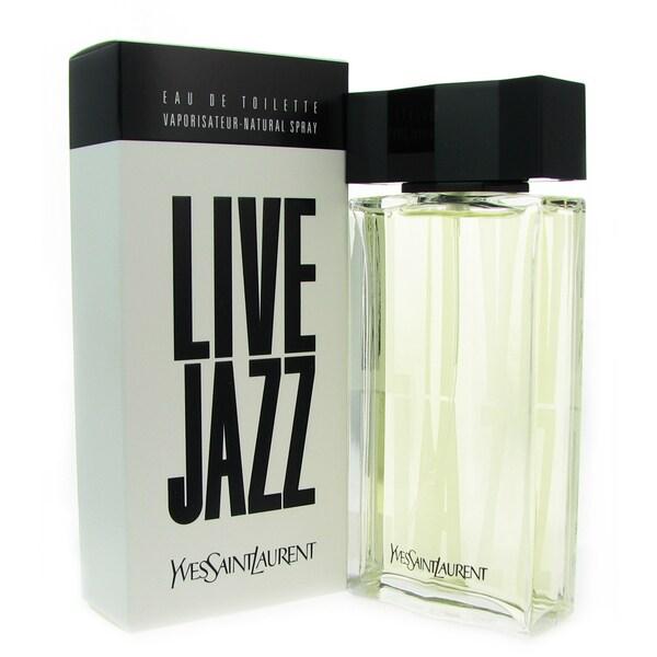 Yves Saint Laurent 'Live Jazz' Men's 3.3-ounce Eau de Toilette Spray