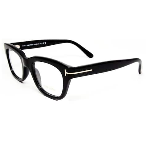 77b753f9cc97 Tom Ford Unisex Black Plastic Eyeglasses