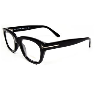 Tom Ford Unisex Black Plastic Eyeglasses