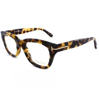 Tom Ford Unisex Vintage Tortoise Plastic Eyeglasses