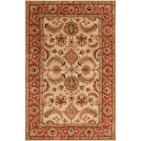 """Hand-tufted Bellevue Semi-Worsted New Zealand Wool Area Rug - 3'3"""" x 5'3"""""""