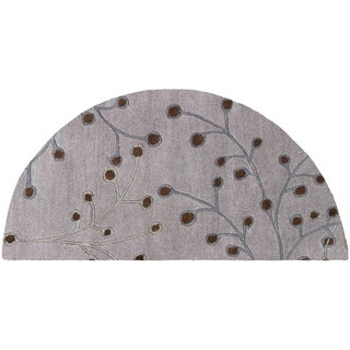 Hand-tufted Melba Wool Rug (2' x 4' Hearth)