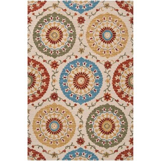 Hand-tufted Riggins Wool Rug (2' x 3')
