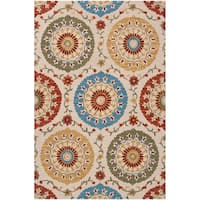 Hand-tufted Riggins Wool Area Rug - 2' x 3'