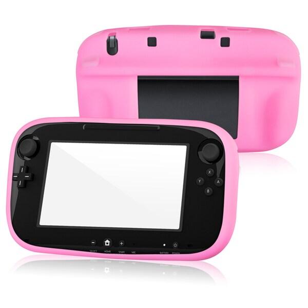 BasAcc Pink Case/ Screen Protector/ Stylus for Nintendo Wii U