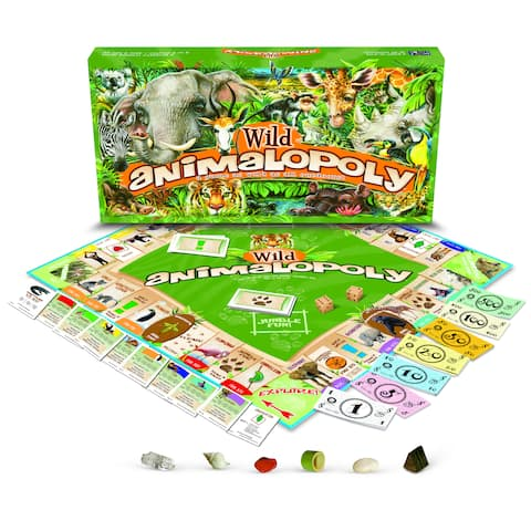 Late For The Sky 'Wild Animal-opoly'