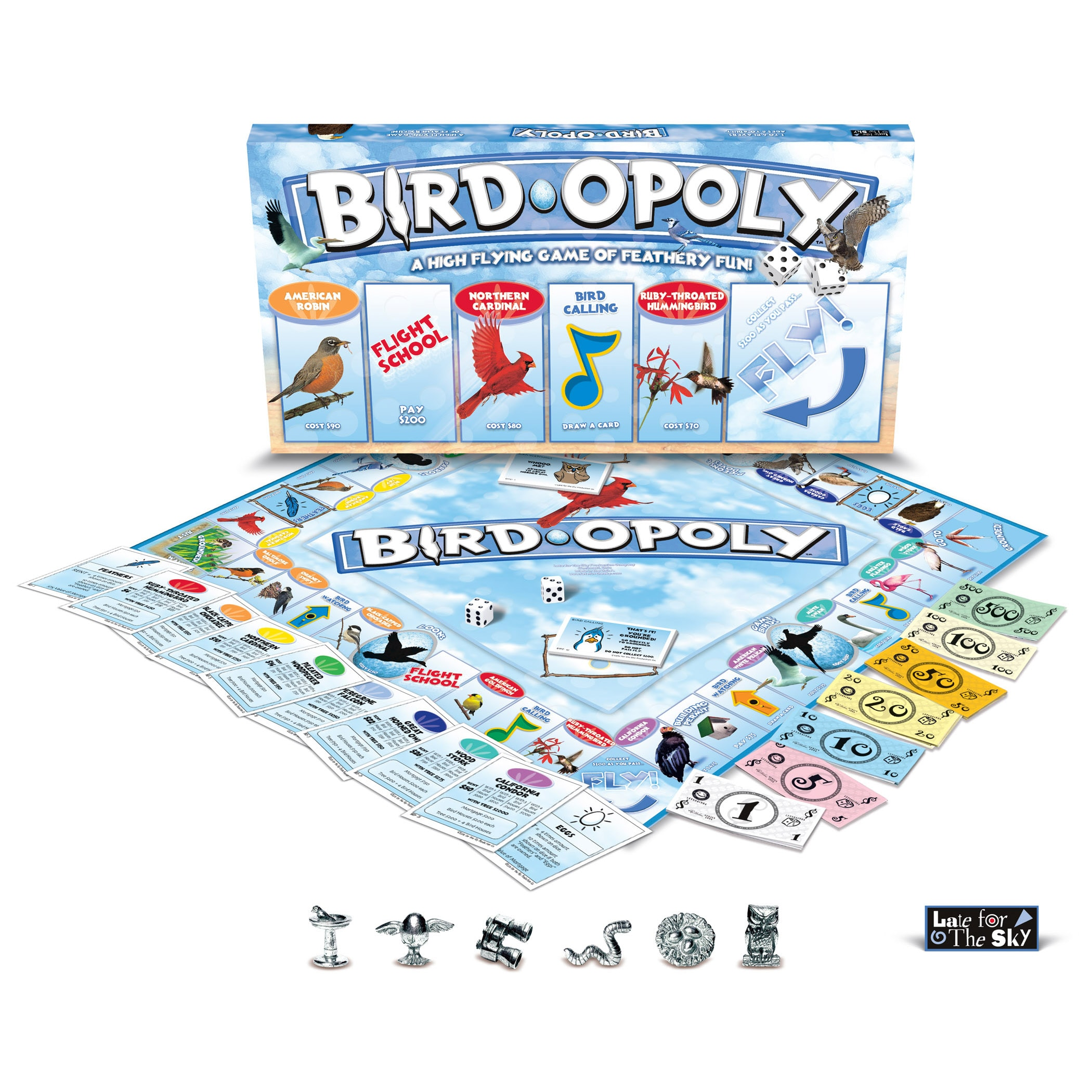 Late for the Sky Blue) 'Bird-Opoly' (730799050466)