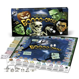 Late For The Sky 'BOO-Opoly' Board Game