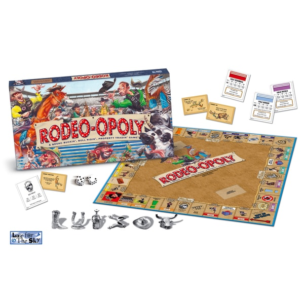 Late For The Sky 'Rodeo-opoly' Board Game