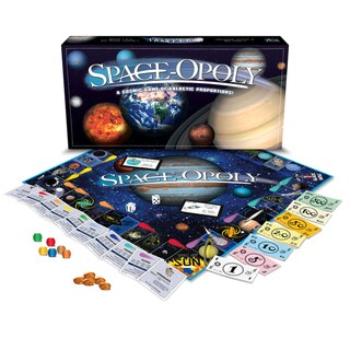 Late For The Sky 'Space-Opoly' Board Game