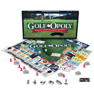 Late For The Sky 'Golf-Opoly' Board Game