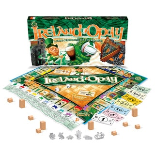 Late For The Sky 'Ireland-Opoly' Board Game