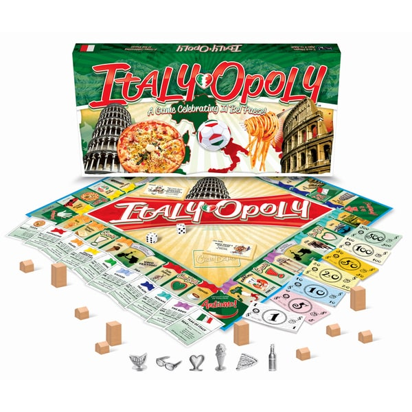 Late For The Sky 'Italy-Opoly' Board Game