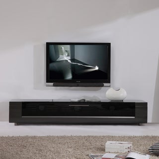 Link to B-Modern Editor Remix Infrared-remote Compatible Grey TV Stand Similar Items in Entertainment Units