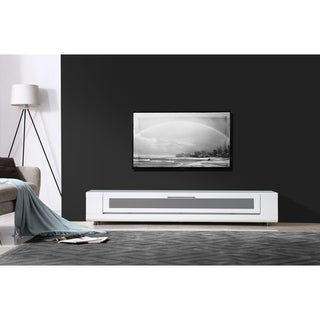 Link to B-Modern Editor Remix Infrared-remote Compatible White TV Stand Similar Items in Entertainment Units