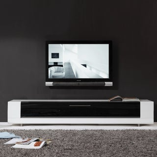 Roma Remix Infrared-remote Compatible White TV Stand