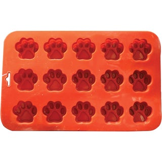 Mini Paw Silicone Cake Pan with 15 Cavities