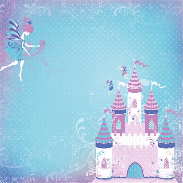 "Fairytales Postbound Album 12""X12""-10 Page Protectors"