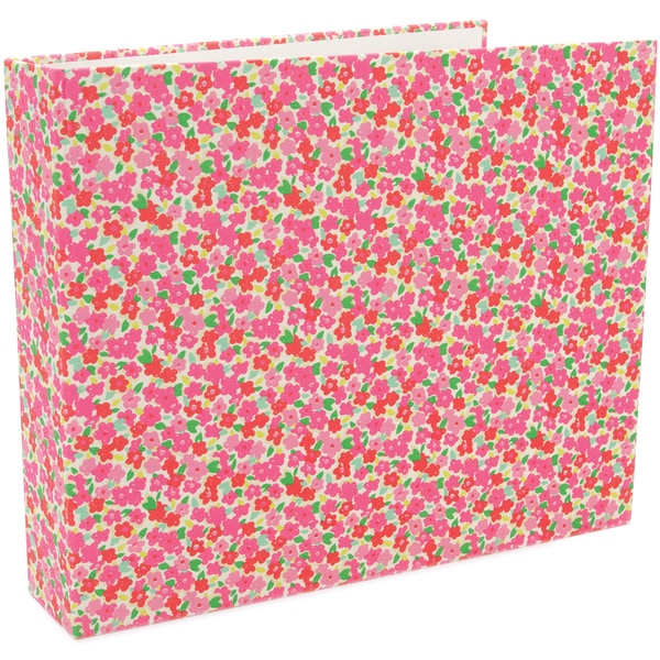 """On Trend Cloth D-Ring Album 12""""X12""""-2-5/8"""" Rings"""