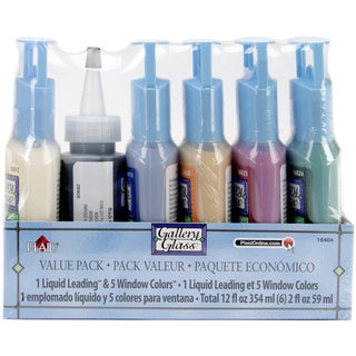 Gallery Glass Window Color Paint Set-Decorator Colors