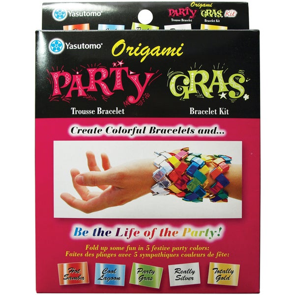 Party Gras Bracelet Kit-