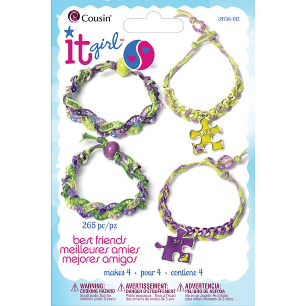 It Girl Jewelry Kits-Puzzle Pieces 265 Pieces